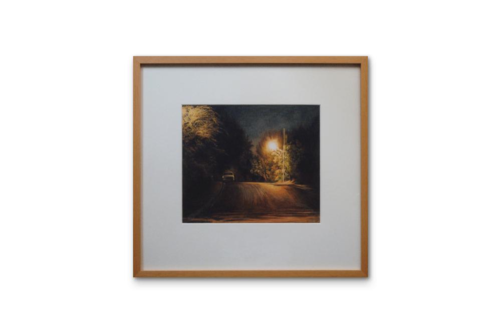 suburban-night-framed